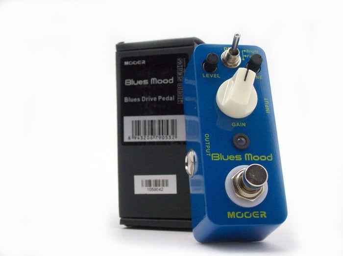 Mooer Pedals Blues Mood Overdrive Pedal