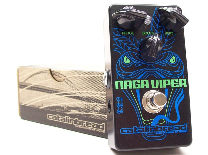 Catalinbread Naga Viper Treble Boost Effects Pedal