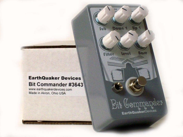 EarthQuaker Devices Bit Commander Synth Guitar Effect Pedal