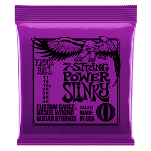 Ernie Ball Power Slinky 7-string Nickel Wound Electric Guitar Strings 11-58