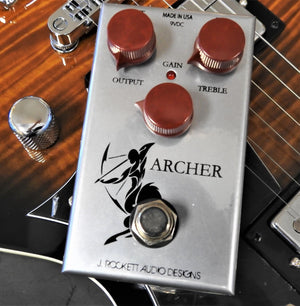 J. Rockett Audio Archer Overdrive/Boost Guitar Effects