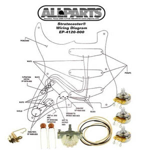 All Parts Stratocaster Wiring Kit