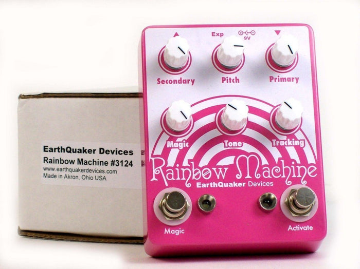 EarthQuaker Devices - Rainbow Machine Polyphonic Pitch Mesmerizer Guitar Effects Pedal