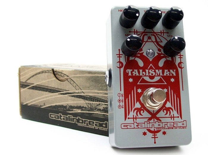 Catalinbread Talisman Plate Reverb Effects Pedal