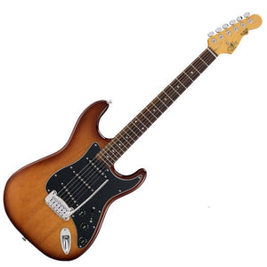 G&L Guitars Tribute Series S-500 Tobacco Sunburst with Gig Bag