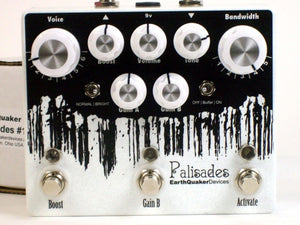 EarthQuaker Palisades Overdrive Guitar Effect Pedal