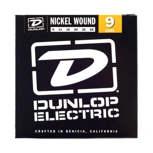Dunlop Nickel Wound Electric Guitar Strings 9-42