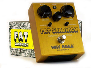 Way Huge Fat Sandwich Harmonic Saturator Guitar Effect Pedal