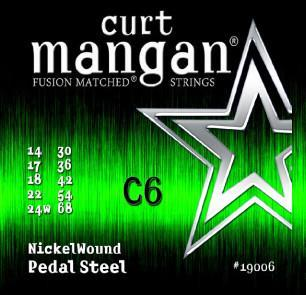 Curt Mangan C6 Nickel Wound Pedal Steel String Set