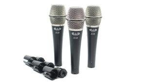CAD Audio CAD-Live Model: D38x3 3-Pack Dynamic Instrument Microphones