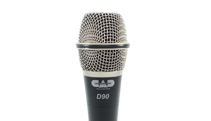CAD Audio CAD-Live Model: D90 PREMIUM SUPERCARDIOID DYNAMIC HANDHELD MICROPHONE