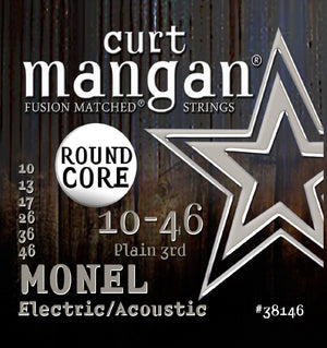 Curt Mangan Monel 10-46 Electric Guitar String Set