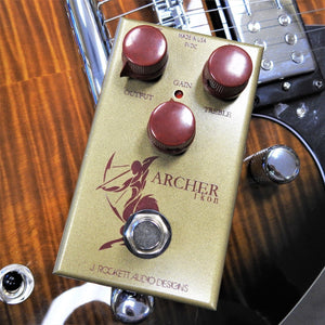 J. Rockett Audio  Archer Ikon Overdrive/Boost Guitar Effects Pedal