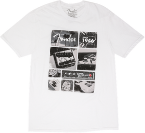 Fender Vintage Parts T-Shirt, White L