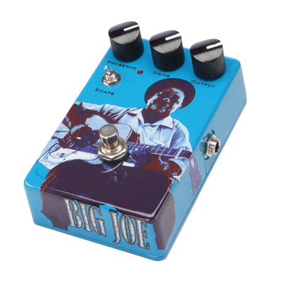 Big Joe Stomp Box Co. Vintage Tube B-403 Distortion Effects Pedal