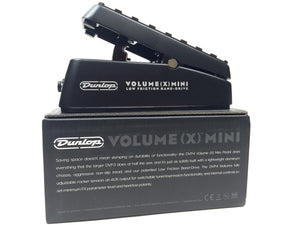 Dunlop Volume X Mini Pedal, Volume and Expression