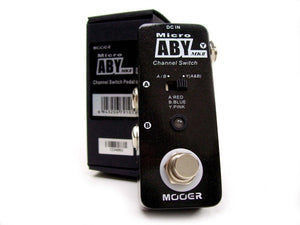 Mooer Micro ABY Channel Switcher
