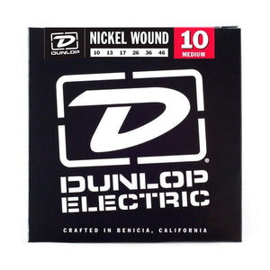 Dunlop Nickle Wound Electric Guitar Strings 10-46