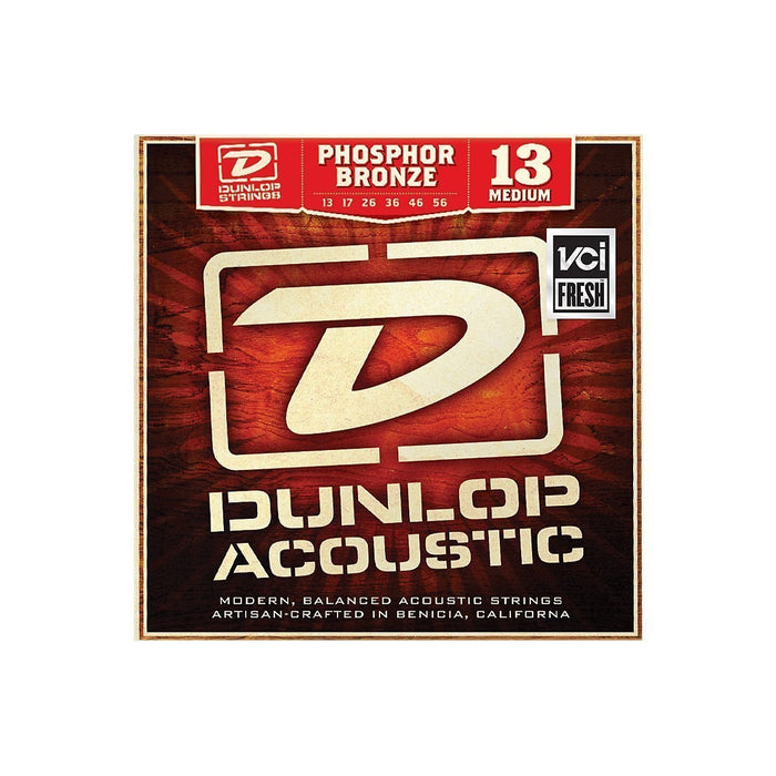 Dunlop Phosphor Bronze 13-56 Acoustic Guitar String Set