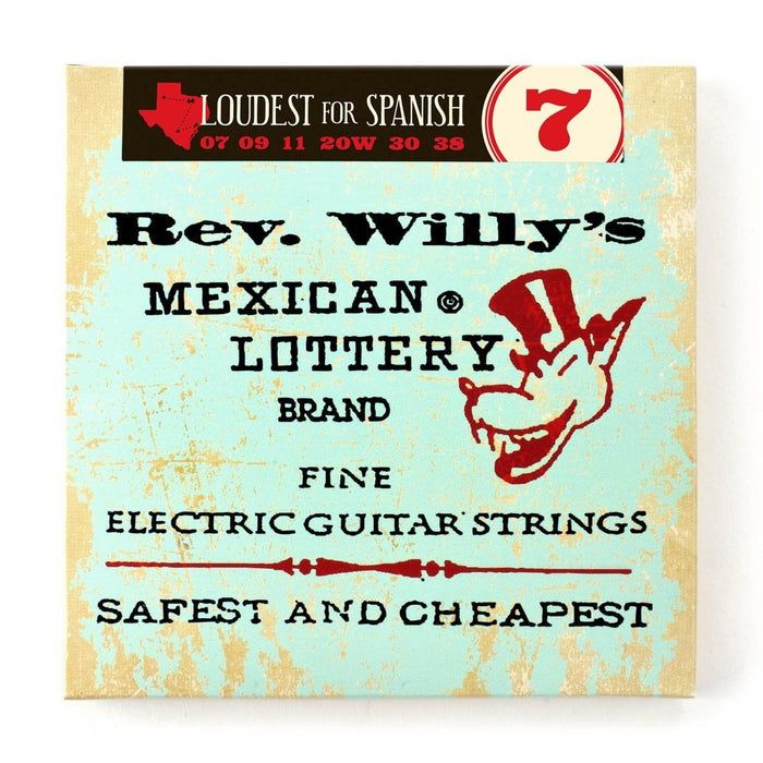 Dunlop Rev. Willy's Electric Guitar String Set 7-38