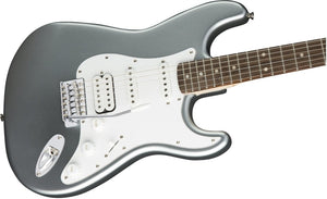 Squier Guitars Affinity Series HSS Stratocaster 6-String Electric Guitar Slick Silver