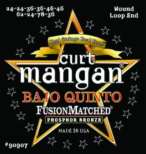 Curt Mangan Bajo Quinto Fusion Matched Phosphor Bronze String Set