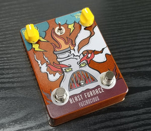 Fuzzrocious Pedals The Blast Furnace Gated Fuzz