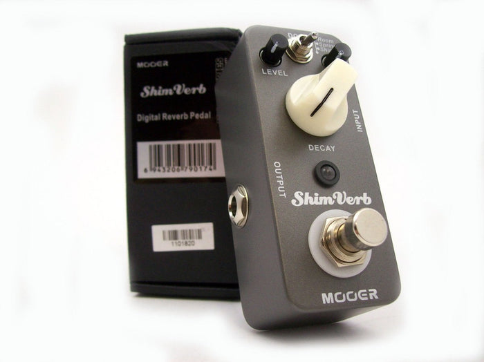 Mooer ShimVerb Digital Reverb Micro Effects Pedal