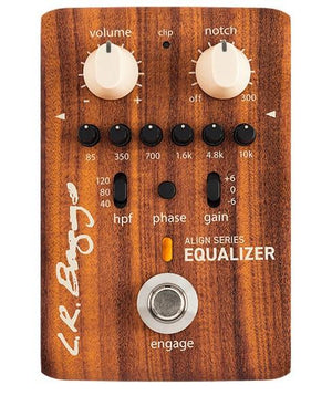L.R. Baggs Align Series Equalizer Acoustic Preamplifier - EQ Pedal