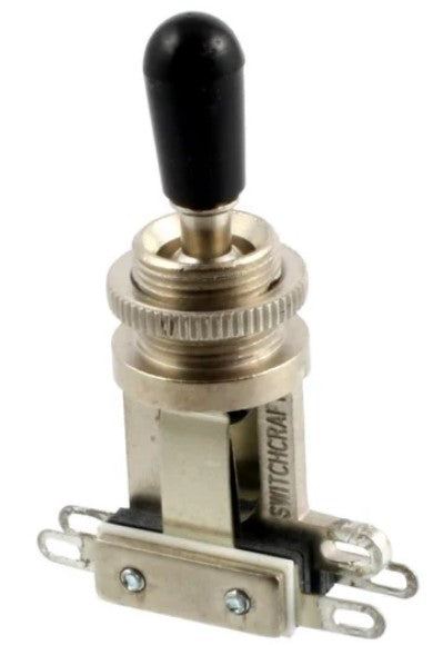 Allparts EP-4066-000 Switchcraft Short Straight Toggle Switch