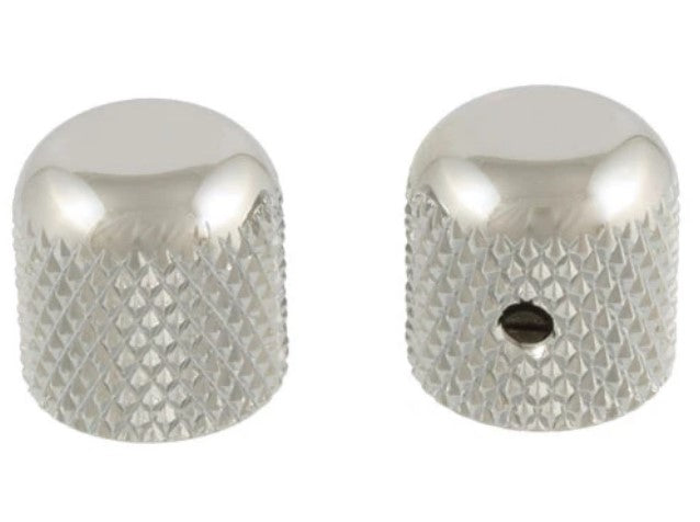 Allparts MK-0110-001 Nickel Dome Knobs