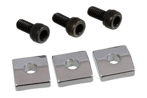 Allparts BP-0116-010 Nut Blocks for Floyd Rose® Locking Nuts (Chrome)