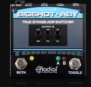 Radial Engineering BigShot ABY True-Bypass Switcher