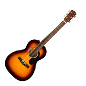 Fender CP-60s Steel-String Parlor Acoustic Guitar Sunburst