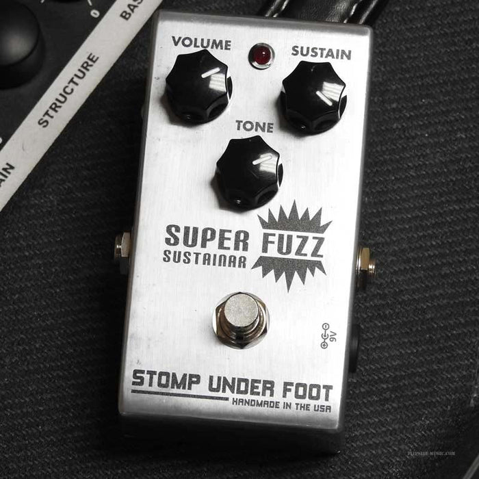 Stomp Under Foot Super Fuzz Pedal (DEMO UNIT)