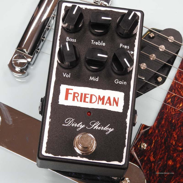 Friedman Amplification Dirty Shirley Overdrive