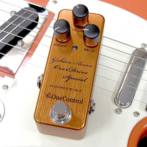 One Control Golden Acorn Overdrive Pedal