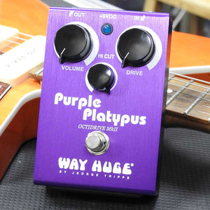 Way Huge Purple Platypus Octidrive Overdrive/ Octave Up