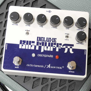 Electro-Harmonix Sovtek Deluxe Big Muff Pi Distortion/Sustainer Pedal