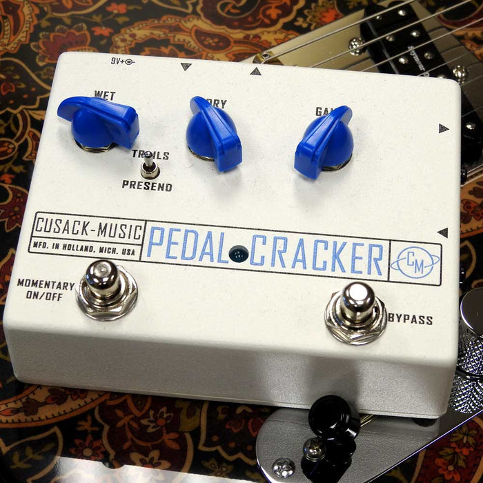 Cusack Music Pedal Cracker Vocal Effects Integrator