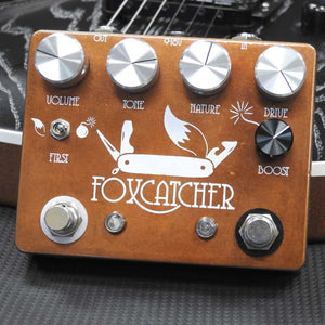 Coppersound Foxcatcher 2-IN-1 Overdrive & Boost Pedal