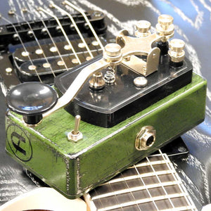 Coppersound Telegraph Stutter, Momentary Killswitch w/Polarity Switch (Relic'd Army Green)