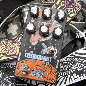 Matthews Effects -The  Cosmonaut V2 Multi Delay/Reverb Pedal