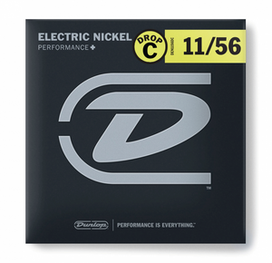 Dunlop DEN1156DC Drop C Nickel-plated Steel Electric Guitar strings
