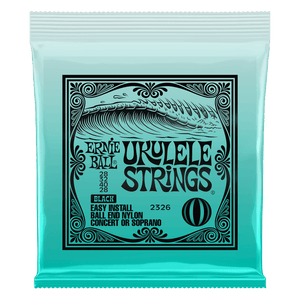 Ernie Ball Black Concert Ukulele Strings