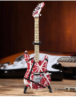 AXE HEAVEN EVH 5150 Eddie Van Halen Mini Guitar Replica Collectible
