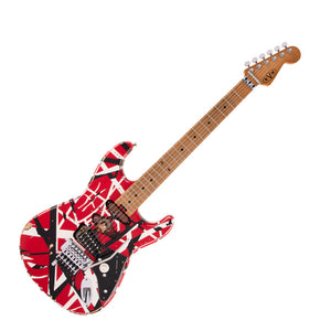 PRE-ORDER - EVH Guitars Striped Series Relic Frankie Guitar