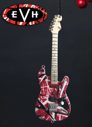 "AXE HEAVEN 6"" EVH Frankenstein Guitar Holiday Ornament"