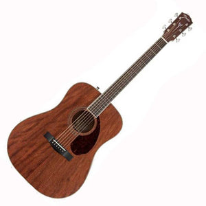 Fender PM-1 Standard Dreadnought All-Mahogany Acoustic Guitar w/Hardshell Case