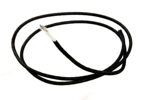 Allparts GW-0820-023 Cloth Covered Stranded Wire - Black
